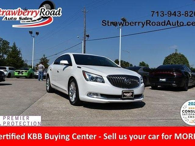 2015 Buick LaCrosse Leather for sale in Pasadena, TX