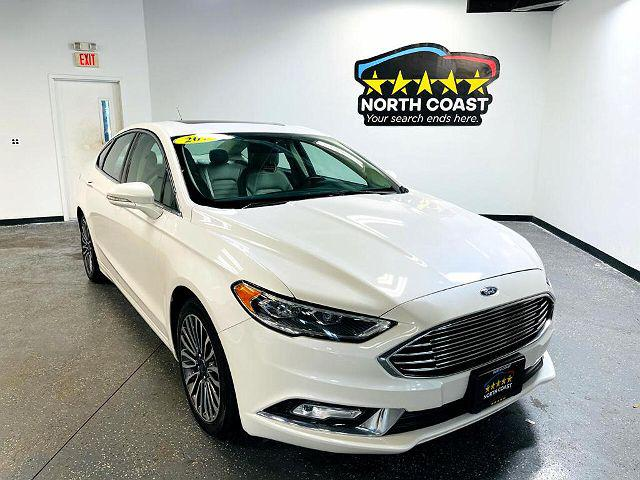 2017 Ford Fusion SE for sale in Fairport, NY