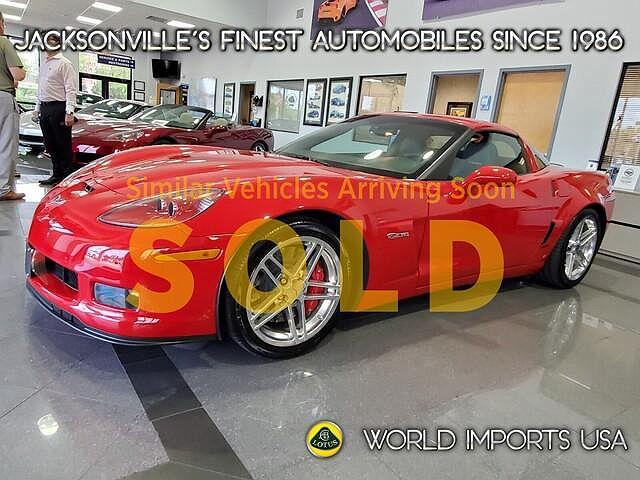 2007 Chevrolet Corvette Z06 for sale in Jacksonville, FL