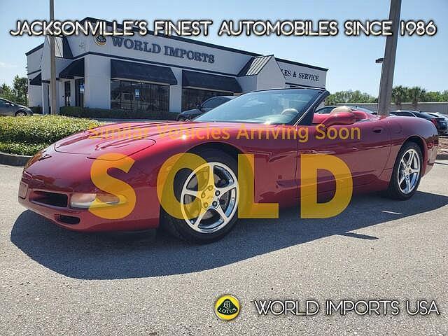 2004 Chevrolet Corvette 2dr Convertible for sale in Jacksonville, FL