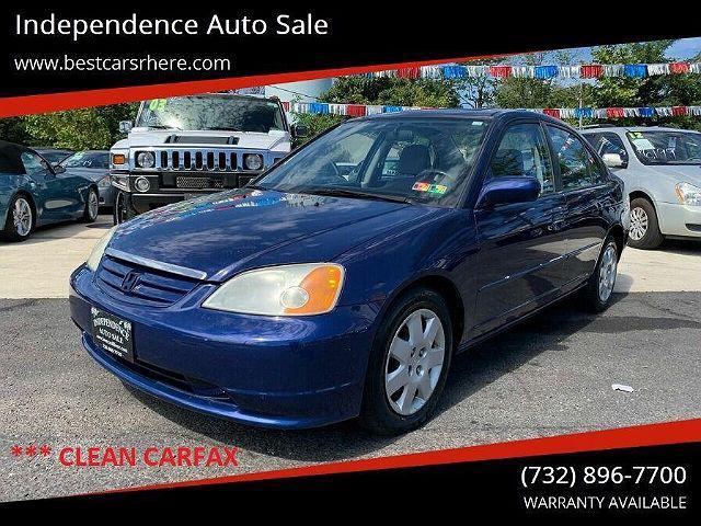 2002 Honda Civic EX for sale in Bordentown, NJ