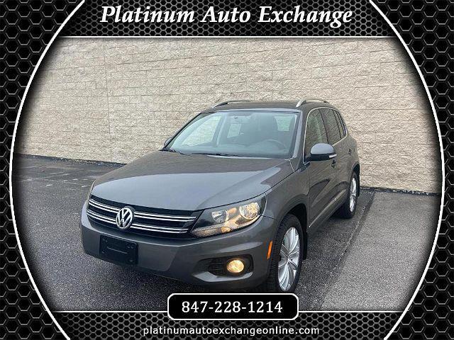 2014 Volkswagen Tiguan SEL for sale in Mount Prospect, IL