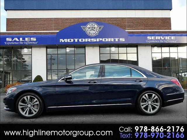2015 Mercedes-Benz S-Class S 550 for sale in Lowell, MA