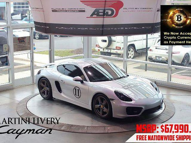 2015 Porsche Cayman 2dr Cpe for sale in Chantilly, VA