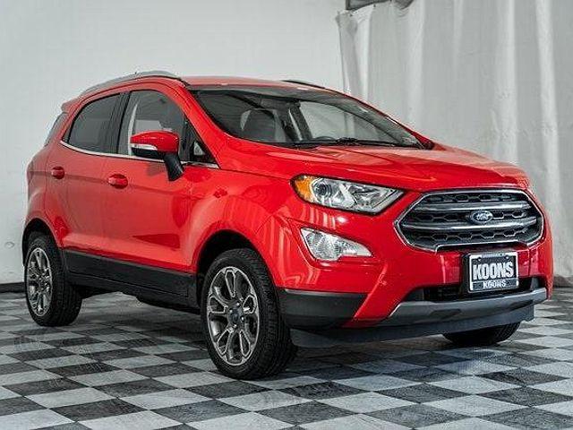 2019 Ford EcoSport Titanium for sale in Woodbridge, VA