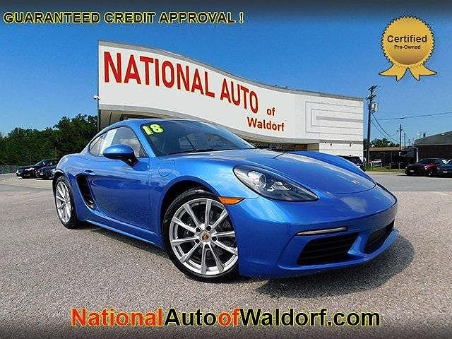 2018 Porsche 718 Cayman Coupe for sale in Waldorf, MD
