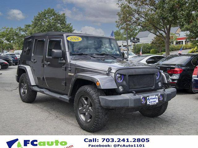 2016 Jeep Wrangler Unlimited Freedom for sale in Falls Church, VA