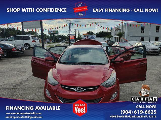 2013 Hyundai Elantra GLS for sale in Jacksonville, FL
