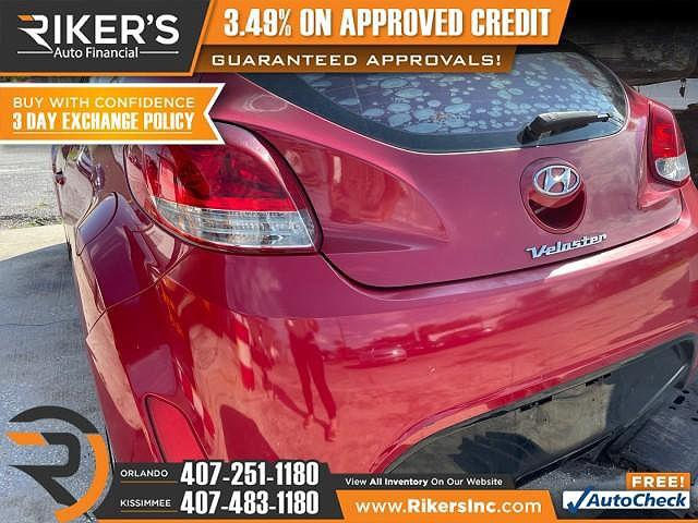 2012 Hyundai Veloster w/Red Int for sale in Kissimmee, FL