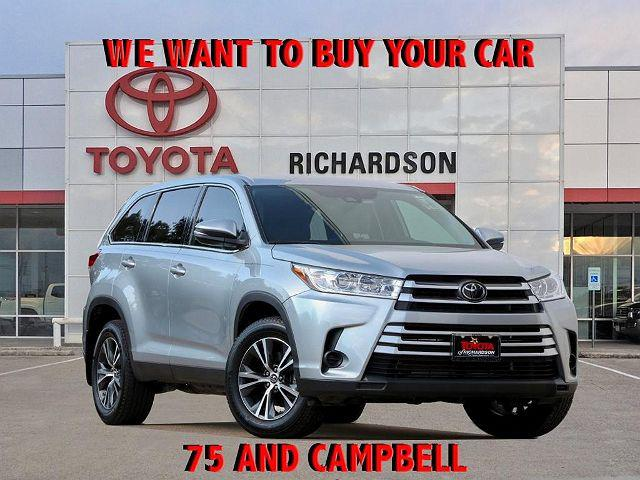 2019 Toyota Highlander LE for sale in Richardson, TX