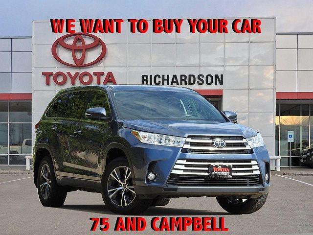 2017 Toyota Highlander LE for sale in Richardson, TX