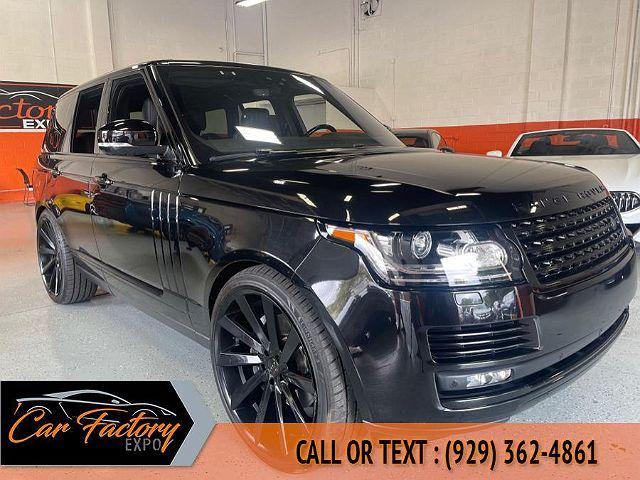 2017 Land Rover Range Rover V8 Supercharged SWB for sale in Bronx, NY
