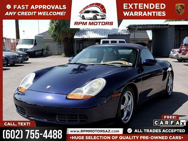 2001 Porsche Boxster 2dr Roadster Tiptronic for sale in Phoenix, AZ