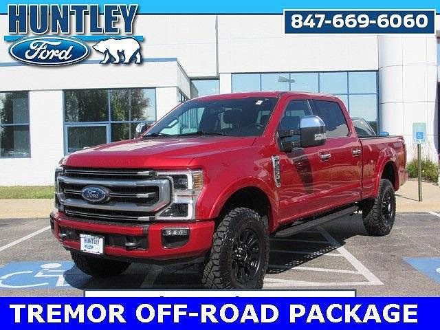 2021 Ford F-250 Platinum Edition for sale in Huntley, IL