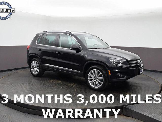 2014 Volkswagen Tiguan SEL for sale in Highland Park, IL