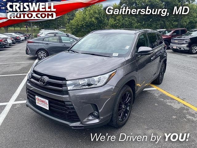2019 Toyota Highlander XLE for sale in Gaithersburg, MD