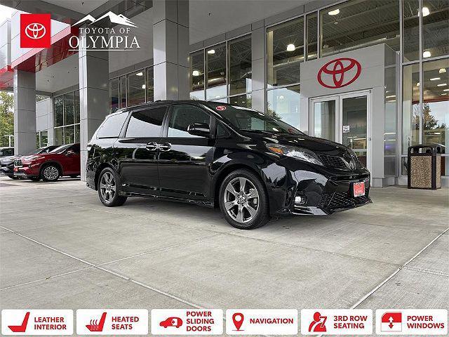 2020 Toyota Sienna SE for sale in Tumwater, WA