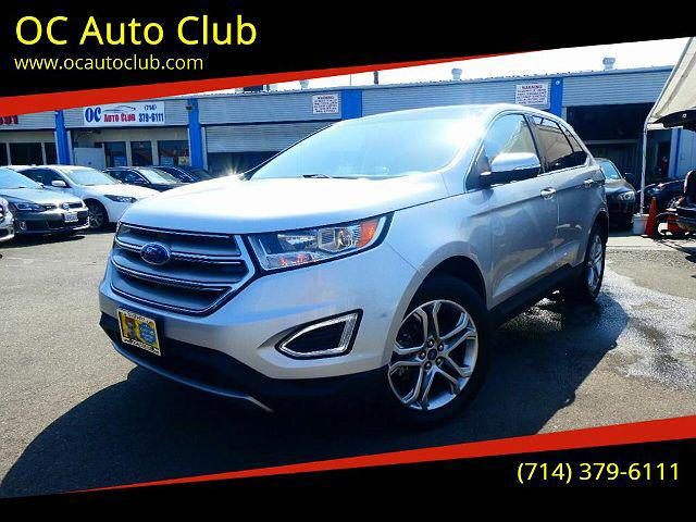 2018 Ford Edge Titanium for sale in Midway City, CA