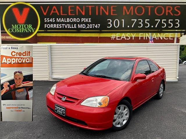 2002 Honda Civic EX for sale in District Heights, MD