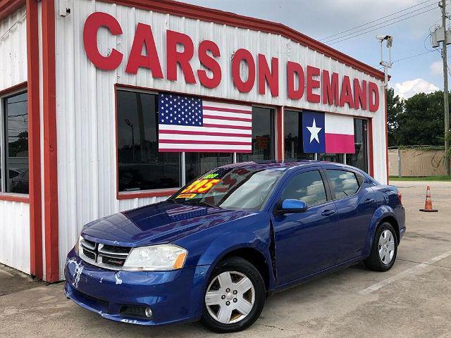 2013 Dodge Avenger SXT for sale in Pasadena, TX