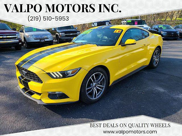 2016 Ford Mustang EcoBoost Premium for sale in Valparaiso, IN