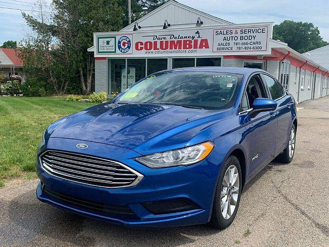 2017 Ford Fusion Hybrid SE for sale in Hanover, MA