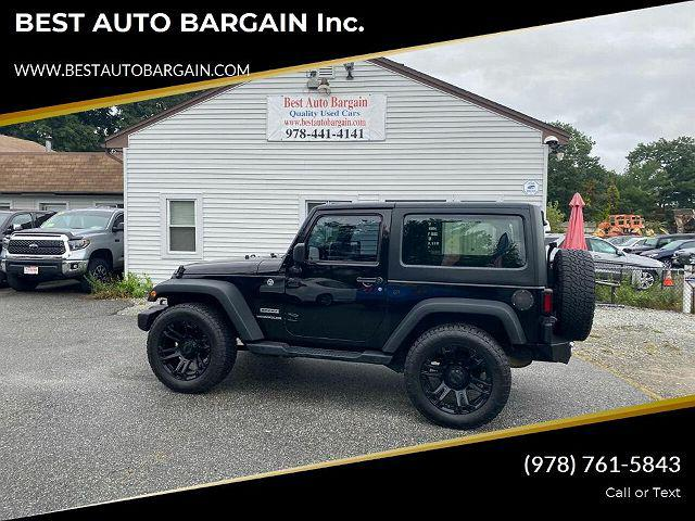 2015 Jeep Wrangler Sport for sale in Lowell, MA