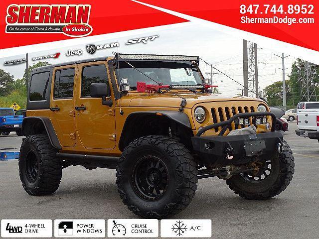 2014 Jeep Wrangler Unlimited Sport for sale in Skokie, IL