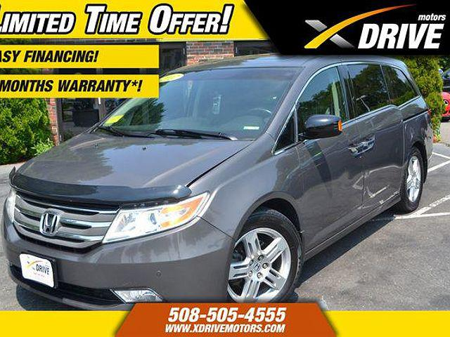 2012 Honda Odyssey Touring for sale in West Bridgewater, MA