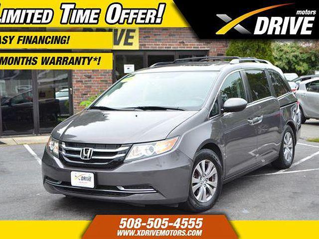 2015 Honda Odyssey EX-L for sale in West Bridgewater, MA