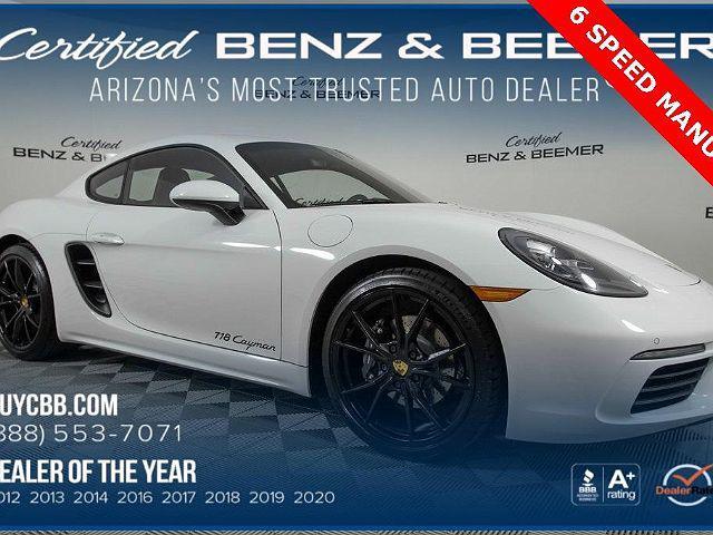 2018 Porsche 718 Cayman Coupe for sale in Scottsdale, AZ