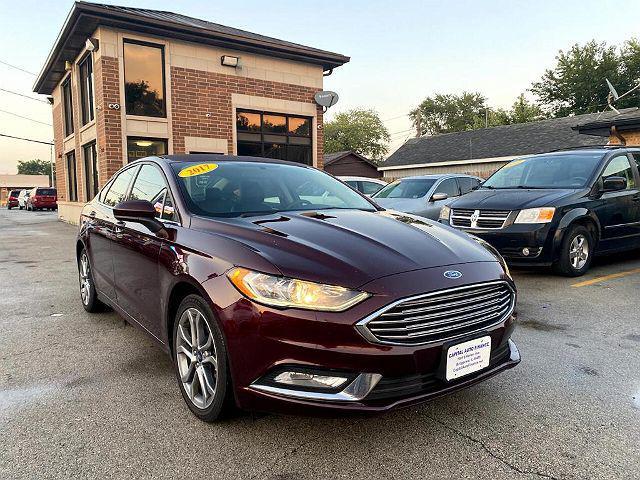 2017 Ford Fusion SE for sale in Bridgeview, IL