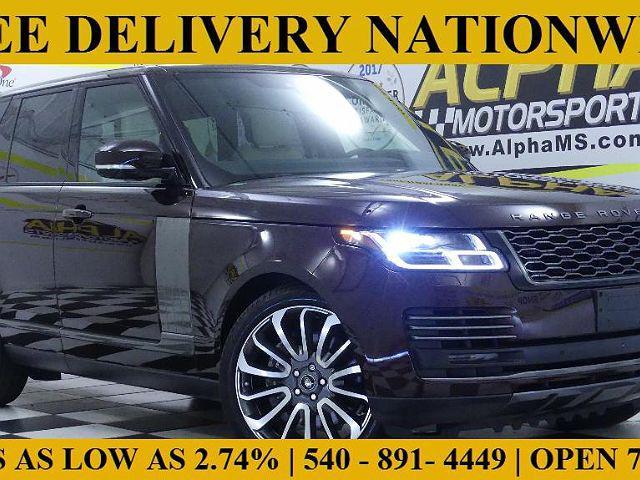 2020 Land Rover Range Rover Autobiography for sale near Fredericksburg, VA