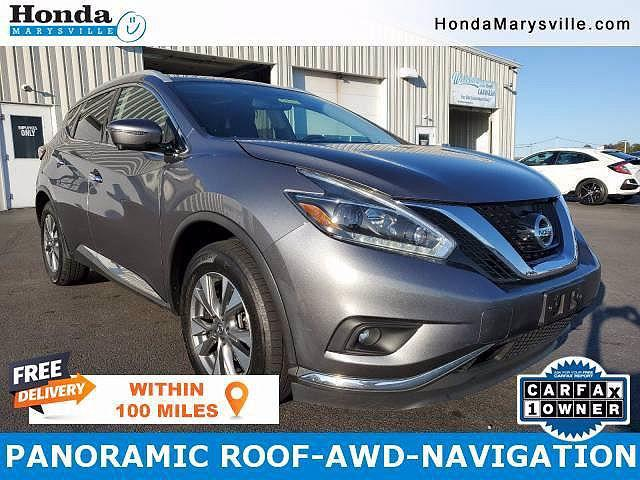 2018 Nissan Murano SL for sale in Marysville, OH
