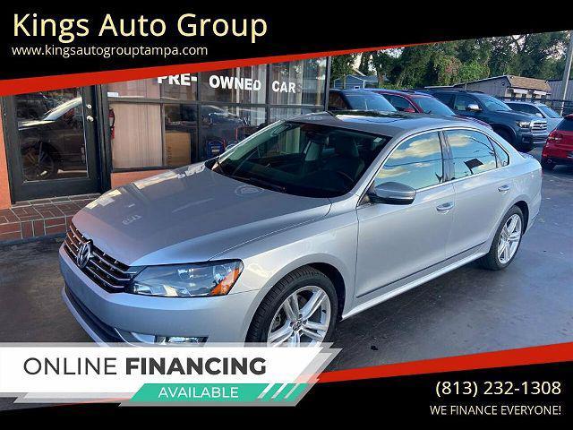 2015 Volkswagen Passat 2.0L TDI SEL Premium for sale in Tampa, FL