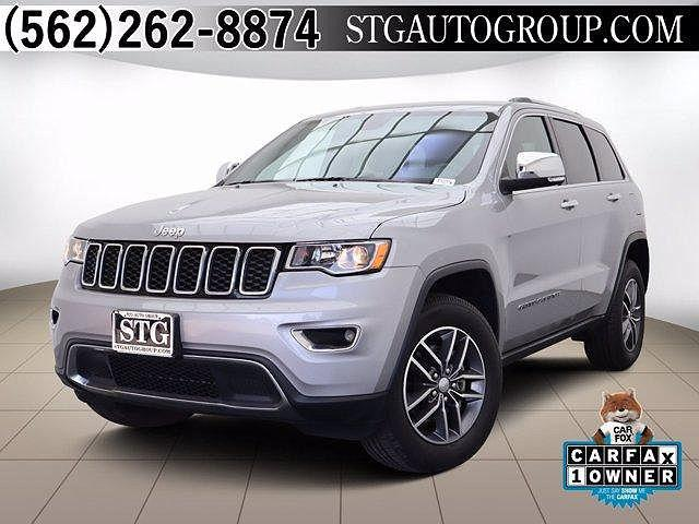 2018 Jeep Grand Cherokee Limited for sale in Montclair, CA