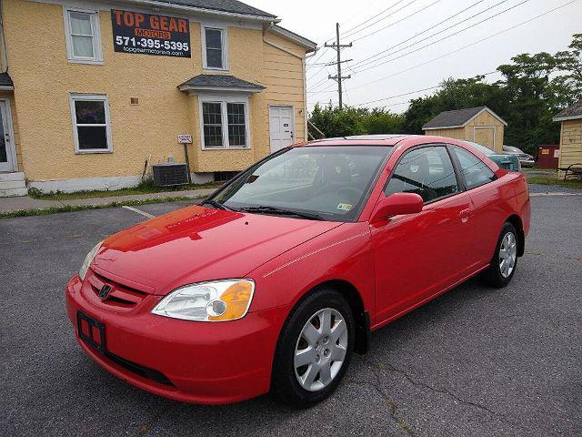 2001 Honda Civic EX for sale in Winchester, VA