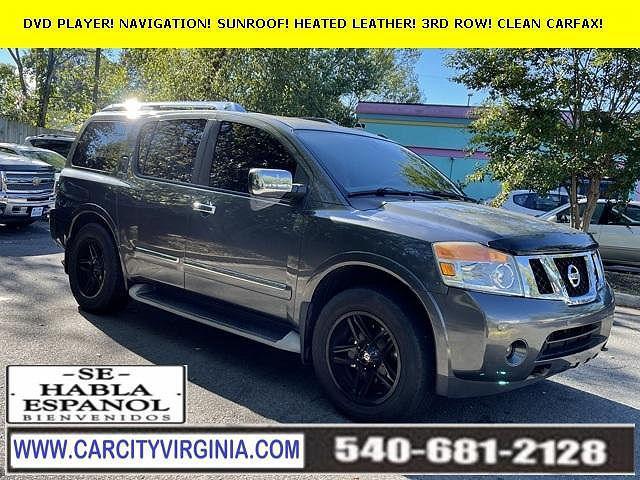 2012 Nissan Armada Platinum for sale in Fredericksburg, VA