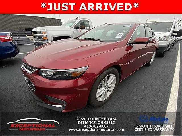 2018 Chevrolet Malibu LT for sale in Defiance, OH