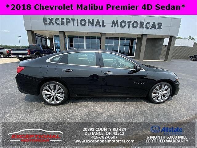 2018 Chevrolet Malibu Premier for sale in Defiance, OH