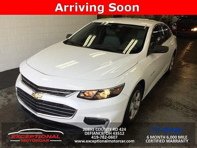 2017 Chevrolet Malibu LS for sale in Defiance, OH
