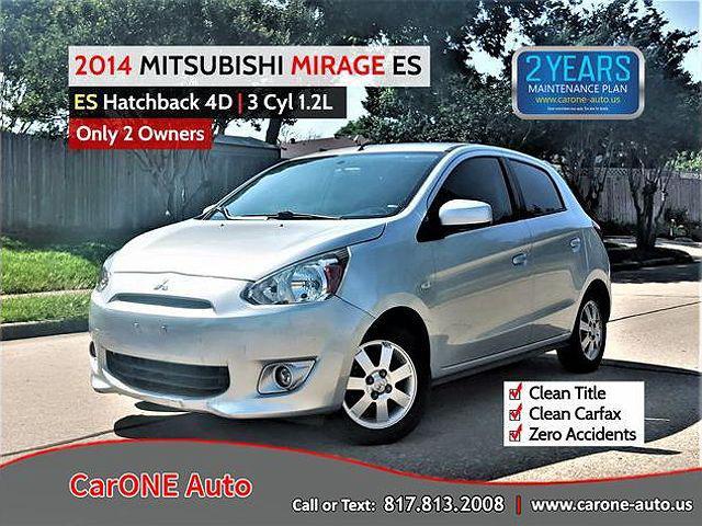 2014 Mitsubishi Mirage ES for sale in Garland, TX