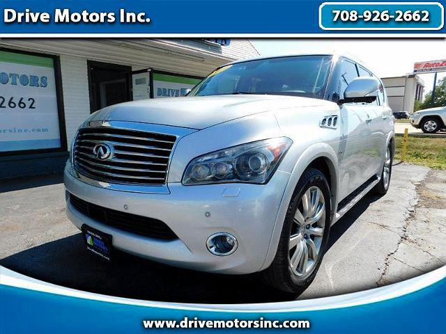 2014 INFINITI QX80 4WD 4dr for sale in Crestwood, IL