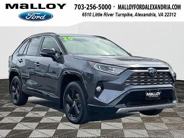 2020 Toyota RAV4 XSE for sale in Alexandria, VA