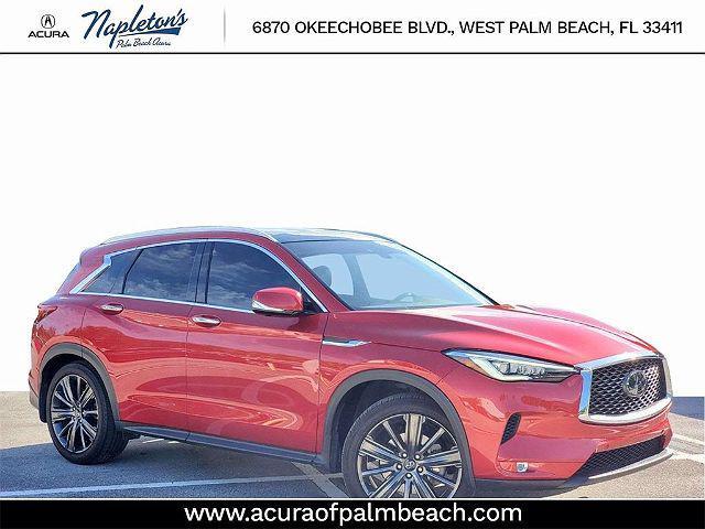 2020 INFINITI QX50 SENSORY for sale in West Palm Beach, FL