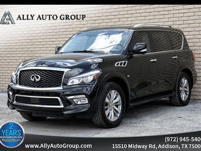 2017 INFINITI QX80 RWD for sale in Addison, TX