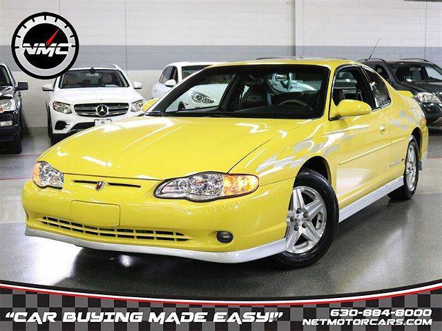 2002 Chevrolet Monte Carlo SS for sale in Addison, IL