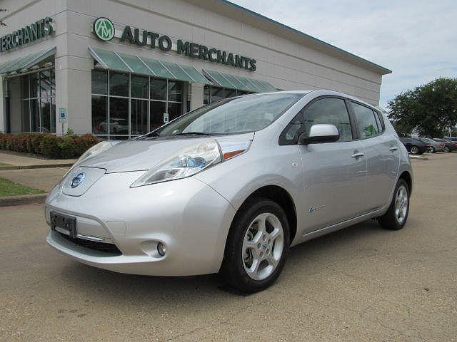 2011 Nissan LEAF SL for sale in Plano, TX