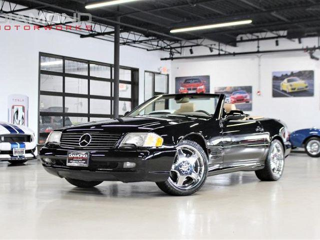 2001 Mercedes-Benz SL-Class 2dr Roadster 5.0L for sale in Lisle, IL