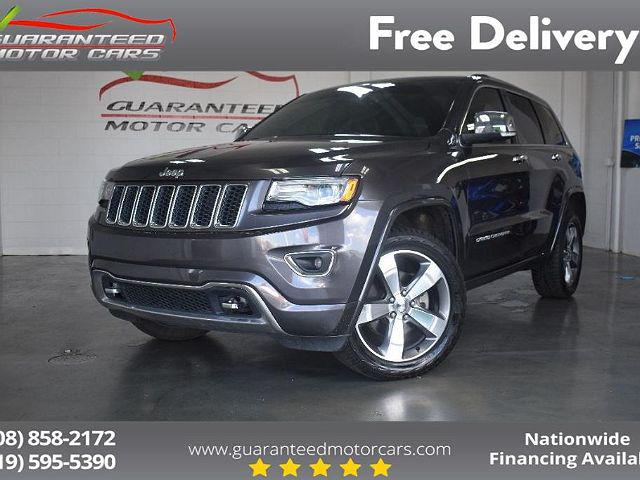 2015 Jeep Grand Cherokee Overland for sale in Highland, IN